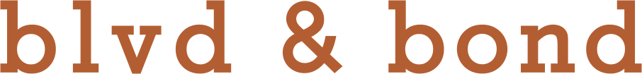 blvd & bond logo